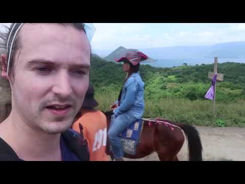 Hiking Towards an Active Crater - Taal Volcano Philippines - Vlog 3