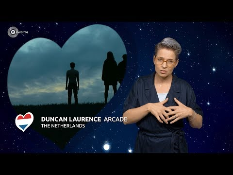 Duncan Laurence - Arcade | Nederland 🇳🇱 | Gebarentaal | ESC19