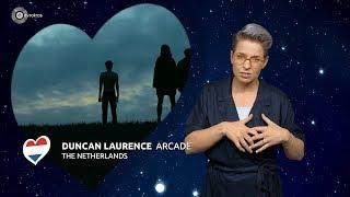 Songfestival: bekijk Arcade van Duncan Laurence in gebarentaal
