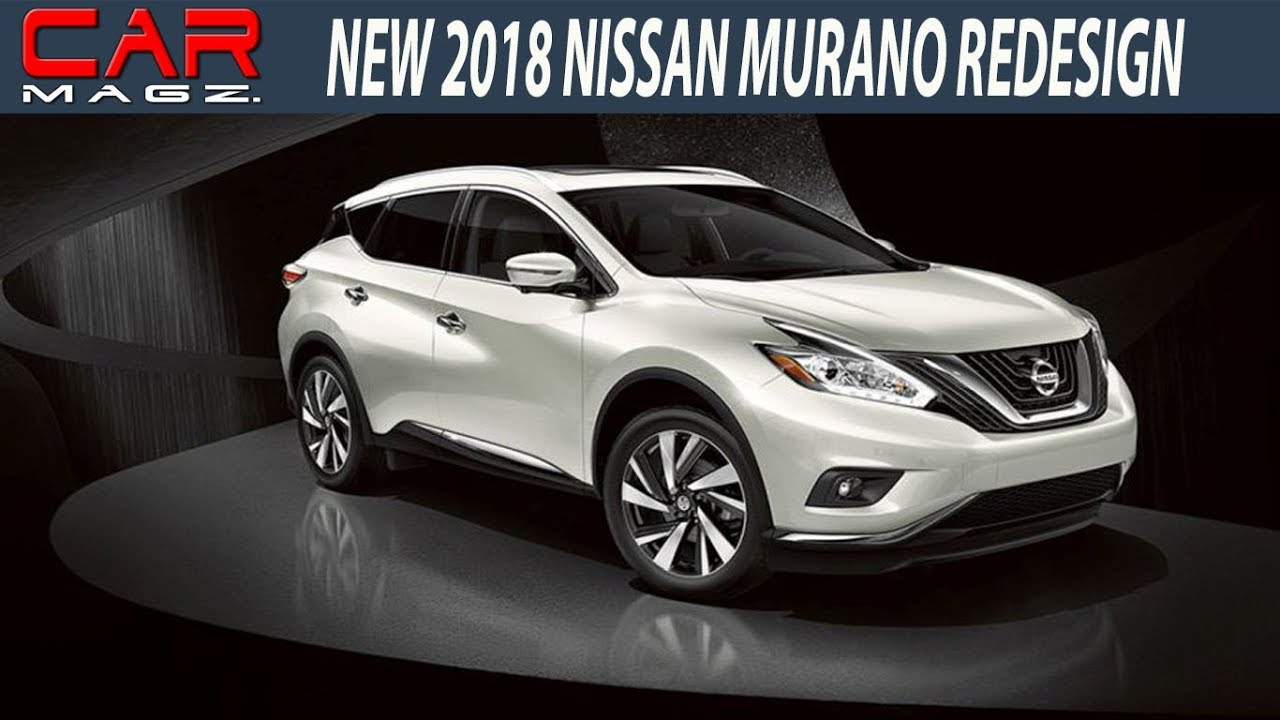 2018 Nissan Murano Changes Review and Specs - YouTube