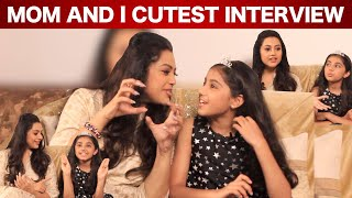 நான் Phone Use பண்றது அம்மாக்கு பிடிக்காது - Meena And Her Daughter Nainika Funny Interview