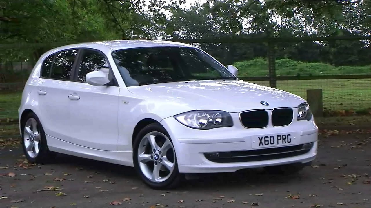 bmw 1 series 116i 2 0 sport 5dr stunning alpine white youtube. Black Bedroom Furniture Sets. Home Design Ideas