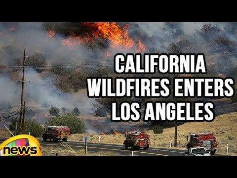California Wildfires Enters Los Angeles | Mango News