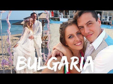 Bulgaria Travel Vlog Wedding at the beach Dreamy | Paradise Blue Albena