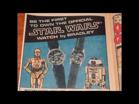 COMIC MAN PRODUCTIONS: STAR WARS BRADLEY WATCH LITTLE LULU COMIC BOOK AD 1978