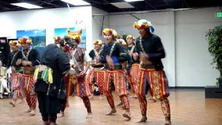 Paiwan aboriginal tribe of Taiwan visits the San Diego TACC