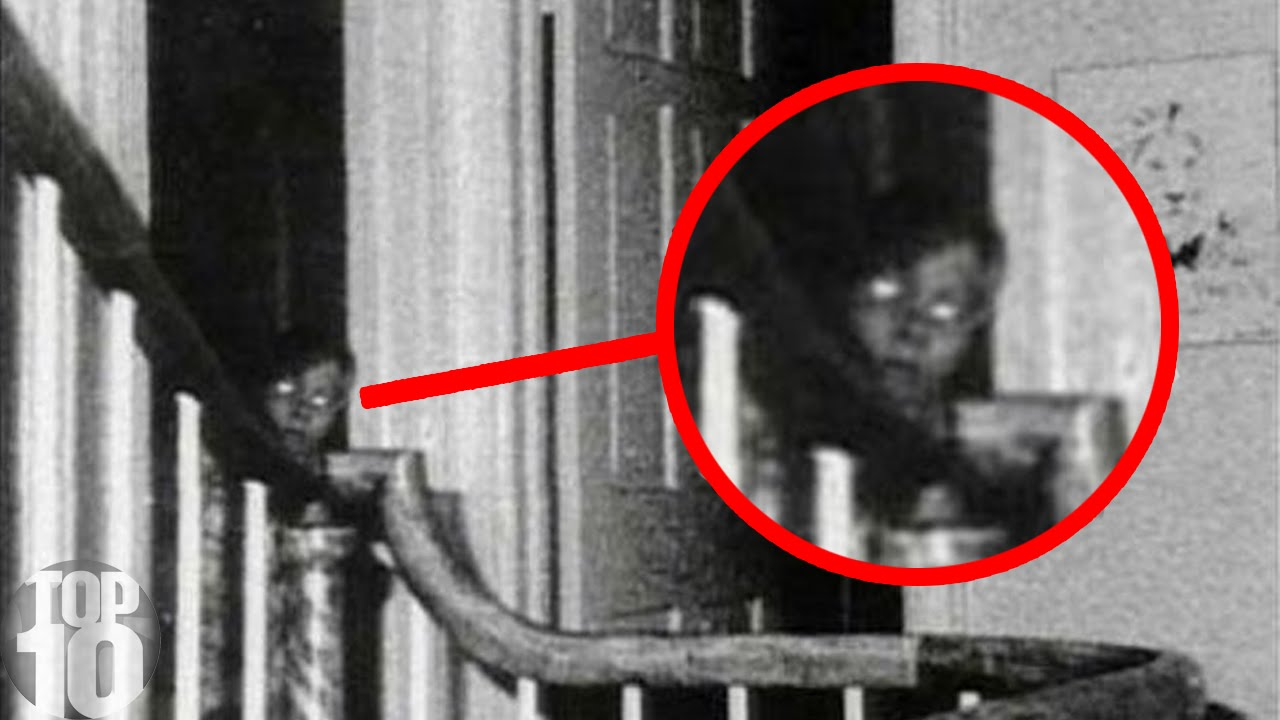 10 Ghosts Caught On Camera Youtube