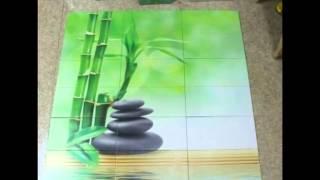 Плитка с рисунком - мода и современный дизайн в помещенье
