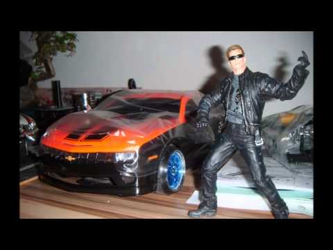rc 1 10 karosserie chevrole camaro drift tuning mit led. Black Bedroom Furniture Sets. Home Design Ideas