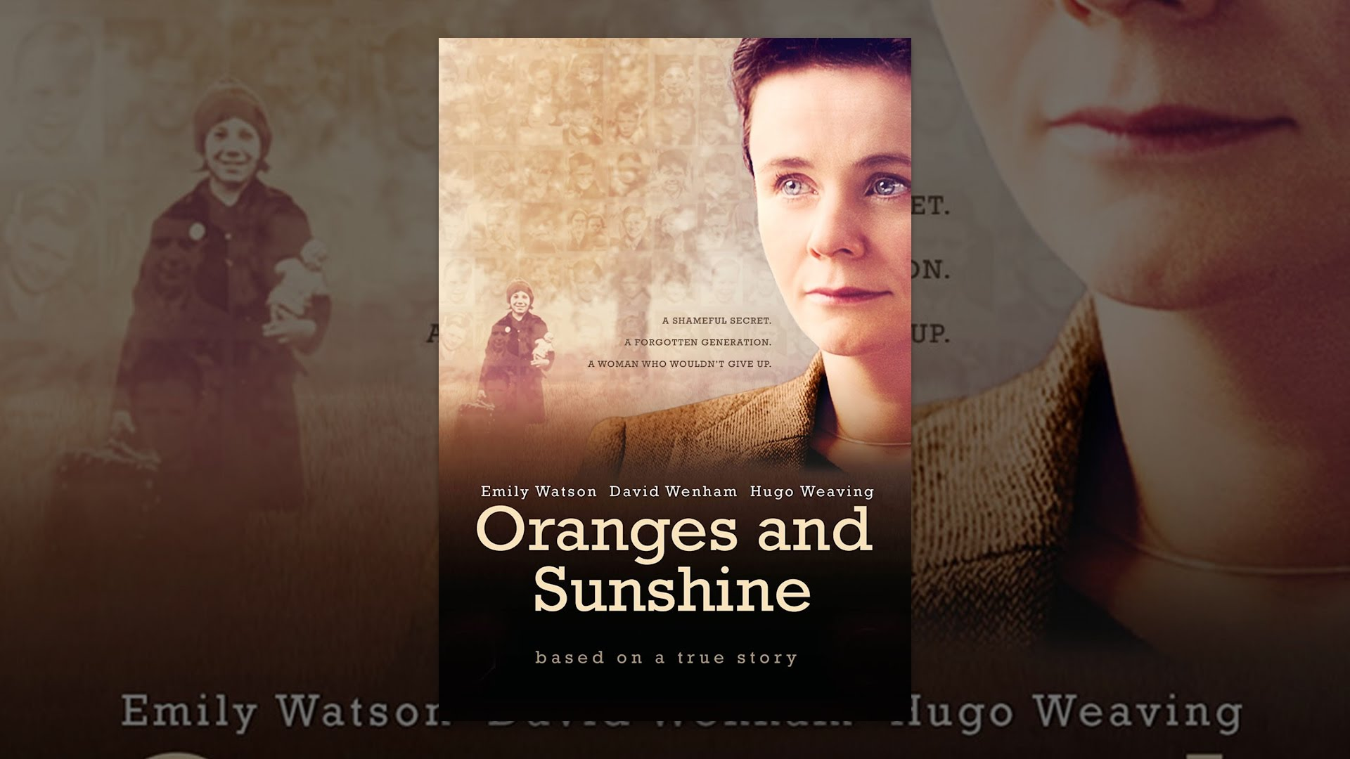 oranges and sunshine by jim loach In oranges and sunshine, margaret humphreys (emily watson) repeatedly insists that her mission to uncover the truth behind a mid-20th-century uk-to-australia child-migration scheme isn't about her but about the victims, but jim loach's docudrama is very much centered on this unflappable social.