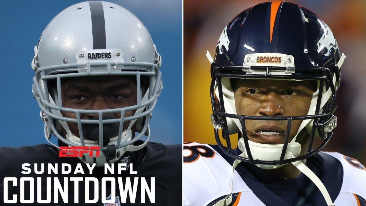 Raiders, Broncos to deal Amari Cooper, Demaryius Thomas before NFL trade deadline? | NFL Countdown