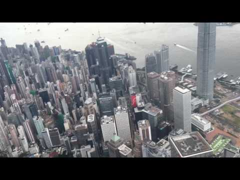 Travel Vlog helicopter Hong Kong island tour