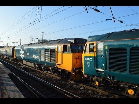 BR 50007 Hercules + 50049 Defiance - The Cumbrian Hoovers, Birmingham Int-Carlisle. 14/4/18