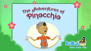 The Adventures Of  Pinocchio | English Bedtime Stories For Kids | BulBul Apps