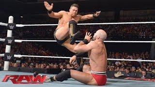 Cesaro vs. The Miz: Raw, September 7, 2015
