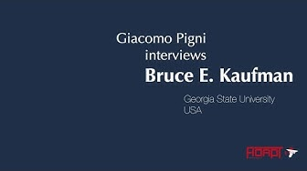 Miniatura del video: #GTL2019 - Interview with Bruce E. Kaufman