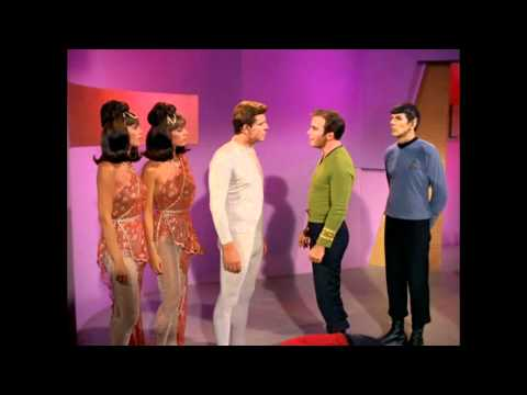 Kirk, Spock, Scotty, and McCoy outwit the Androids
