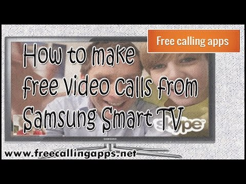 How to make free video calls from Samsung smartTV