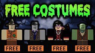Obtenez des costumes d'Halloween GRATUIT sur ROBLOX!