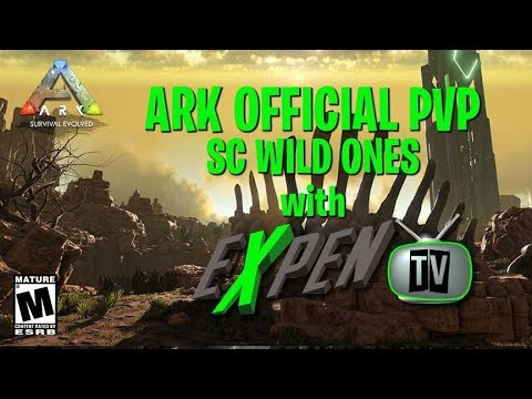 ARK SURVIVAL PVP OFFICIAL #ICON SPACE COWBOY'S AB GRIEFING TRYING TO GET GOODIE  (RATED M)(PS4PRO)