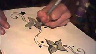 Speed Drawing Flowers