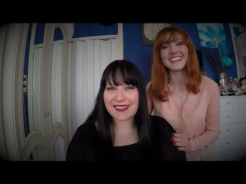 ASMR Collaboration with MinxLaura123 - Hair Brushing and Scalp Massage