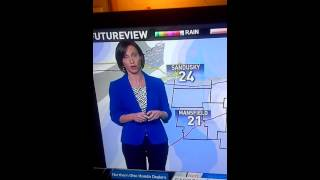 Betsy Kling farts on air WKYC TV Cleveland