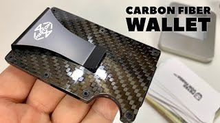 Minimalist Carbon Fiber Wallet Money Clip Review
