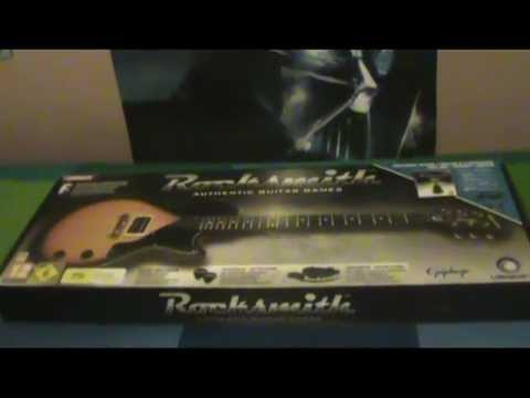 Unboxing Rocksmith bundle + Epiphone Les Paul Junior ITA