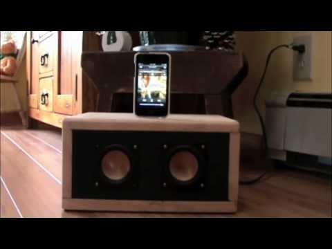 Diy ipod dock, hivi b3s, lepai - YouTube