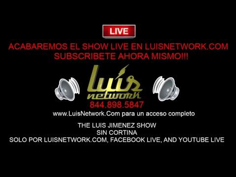 The Luis Jimenez Show // 04.23.2018 // La Primera Hora De Sin Cortina