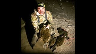 Flounder Gigging on the Southern Outer Banks | Carolina ALL OUT | S-2/Ep-1