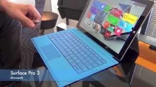 REPORTAGE High-Tech : Présentation tablette MICROSOFT Surface Pro 3