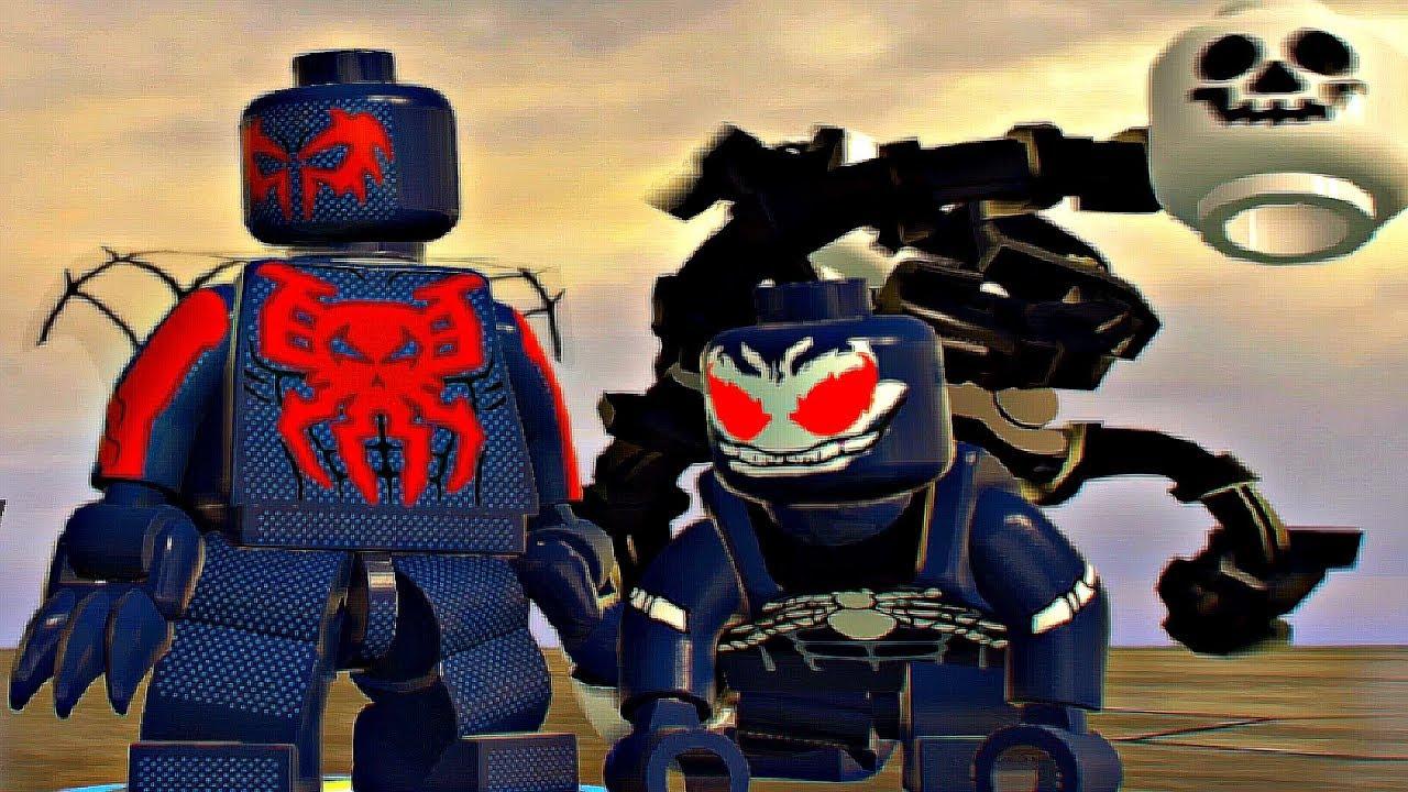 Coloriage Spiderman 2099 Venom 2099