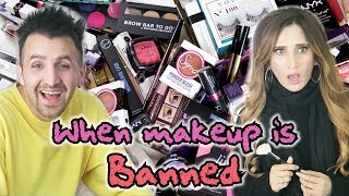 When Makeup is Banned   OZZY RAJA