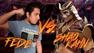 Fede Vs Shao Kahn (Mortal Kombat en Experto)