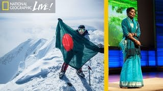 She Summited Each Continent's Highest Mountain To Empower Women | Nat Geo Live thumbnail