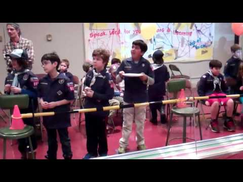 2015 Pinewood Derby Pack 1