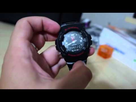 G Shock G100 1BV Review - My personal experience