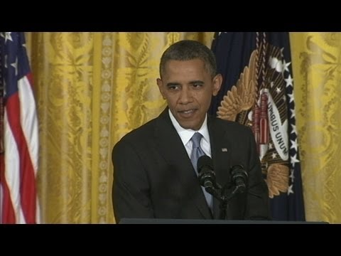 Obama Pre-Vacation Speech Filled With Unscripted Remarks