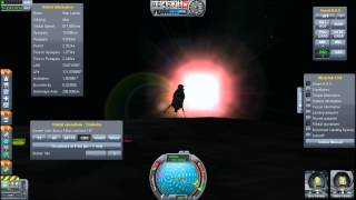 Rescuing An Astronaut In Munar Orbit - Kerbal Space Program