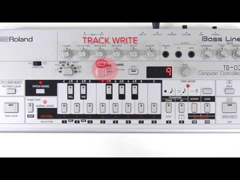 """TB-03 Quick Start 06 """"Playing/Editing a Track"""""""