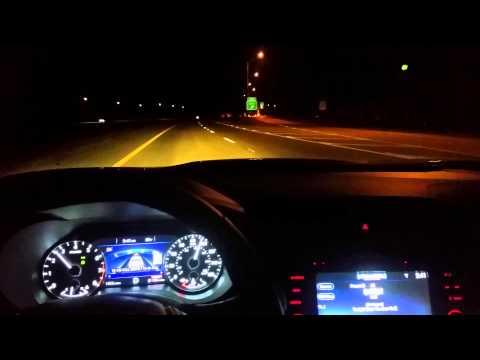 2016 Nissan Maxima Speed Test 0 60 And 80 130 Night Run