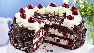black forest cake recipe eggless in cooker
