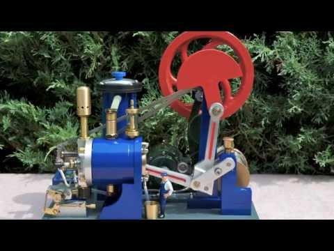 Atkinson Motor -  Atkinson Cycle   4- stroke  Gas Engine