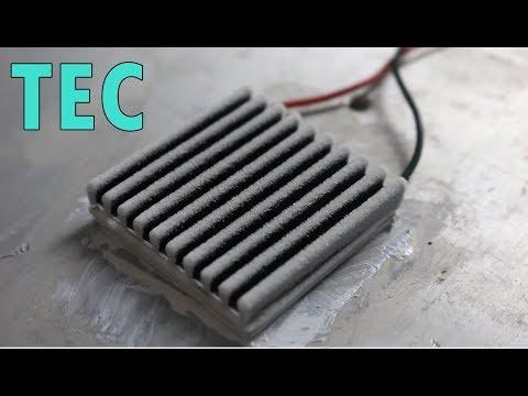 แผ่นทำความเย็น 12VDC ( เพลเทียร์ )