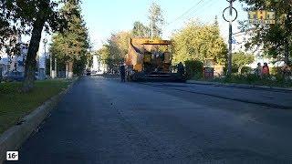 Ремонт дороги по улице Ленина