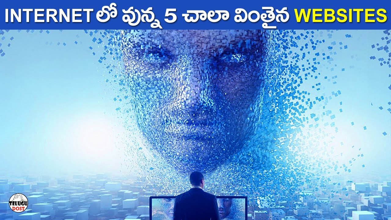 TOP 5 MIND BLOWING WEBSITES ON INTERNET | TELUGU FACTS | TELUGU DOST