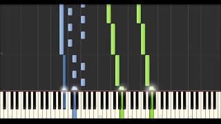 Yann Tiersen - Diouz An Noz (Synthesia Tutorial)