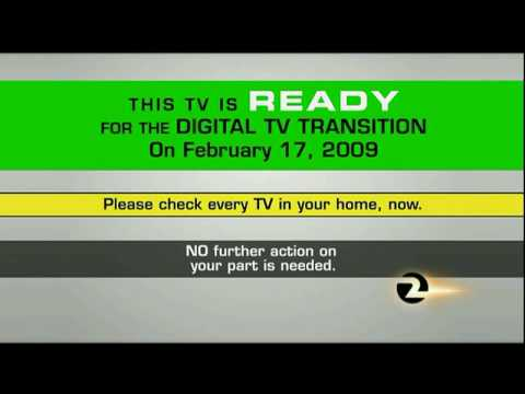 Digital Television Transition Test in San Francisco Bay Area on October 21, 2008 KTVU Version